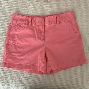 Vineyard Vines coral pink shorts size 2